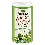 Alnatura Bio Kräuter-Meersalz, jodiert, 6er Pack (6 x 200 g)