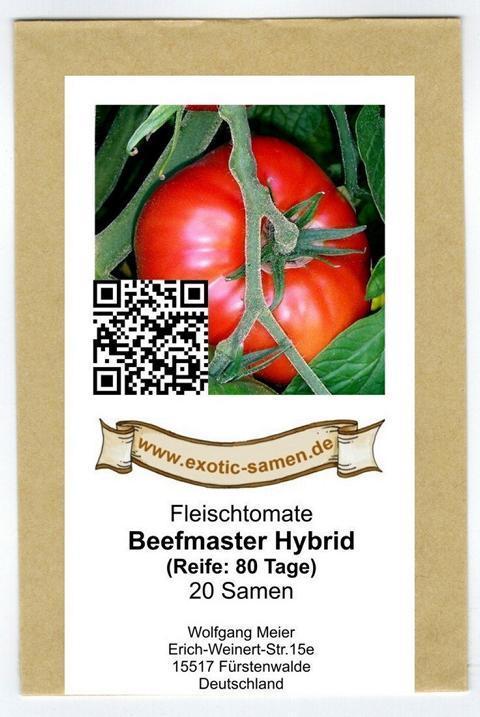 'Beefmaster' F1 Tomate