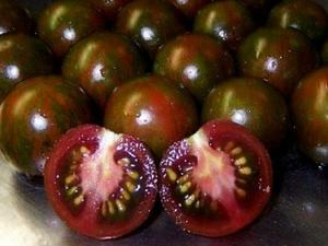 Tomate Black Zebra Cherry