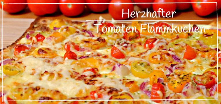 Tomaten Flammkuchen Rezept